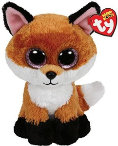 TY Beanie Babies Slick The Brown Fox Plush