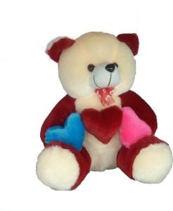 Cuddles Three Hart Teddy  - 35 cm