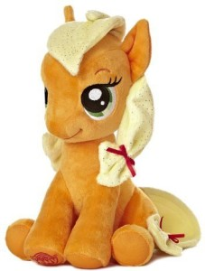 Aurora World My Little Pony Seated Applejack Pony Plush, 10