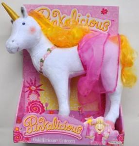 Pinkalicious Goldilicious Unicorn Plush