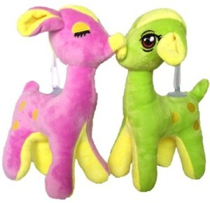 Chinmayi High Quality Adorable Combo Small Female Giraffe Soft Toy  - 24 cm