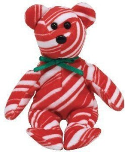 Ty Jingle Beanie Ba Peppermint The Bear (Walgreens Exclusive)