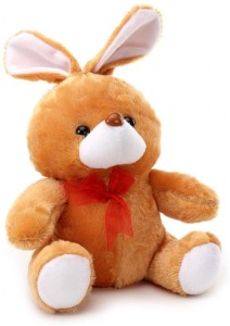 Tickles Muffler Rabbit  - 10 inch