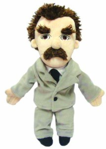 The Unemployed Philosophers Guild Friedrich Nietzsche Plush Little Thinker Doll