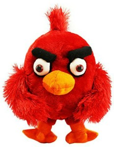 Creative India Exports Red Angry Birds Stuffed Soft Plush Toy  - 25 cm