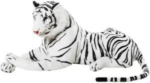 SS Mart White Tiger soft Toy  - 40 cm