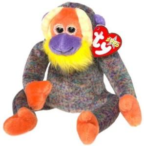 Ty Beanie Ba Bananas The Monkey