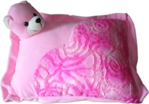 MGPLifestyle Stuffed Soft Plush Teddy Cushion - Pink  - 6 cm