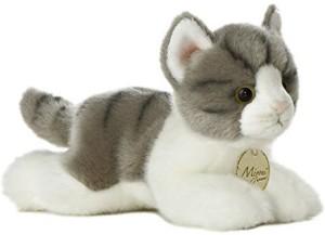 Aurora World Miyoni Grey Tab Cat Plush8