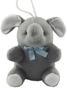 Advance Hotline Stuffed elephant toy with hanging string  - 10 cm