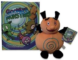 Goodbye Monsters Book & Zimbobo Plush