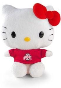 Plushland Inc Ohio State Hello Kitty 6