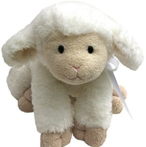 Beloved By Rose Jesus Loves Me Musical Baby Plush Lamb Toy 20 Inch