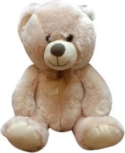 Starwalk Teddy Bear Plush Beige with Bow  - 14 inch