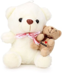 Tickles Brother In Lap Teddy  - 18 cm
