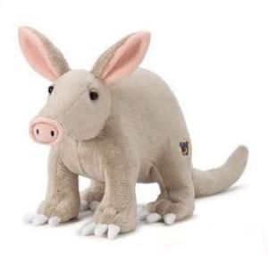 Webkinz Virtual Pet Plush Aardvark + Bookmark New With Sealed Tag