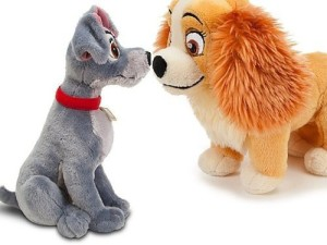 Lady and the Tramp Tramp Plush 13'' H