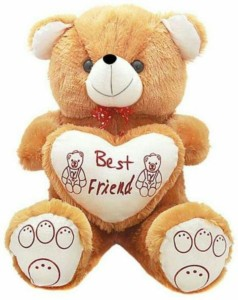 Ansh Sweet best friend brown teddy  - 70 cm
