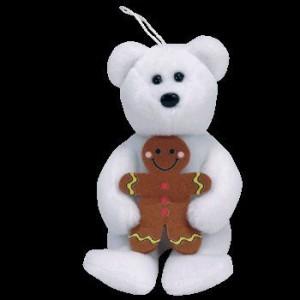 Ty Beanie Babies Goody Holiday Teddy Bear Jingle Beanie Ba