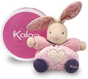 Kaloo Petite Heart Rose Plush Toy, Rabbit, Small  - 20 inch