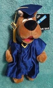 Warner Bros. Graduation Scoo Doo Plush