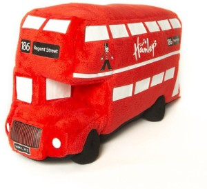 Hamleys Plush London Bus  - 31 cm