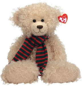 Ty Toas Bear With Oversized Scarf