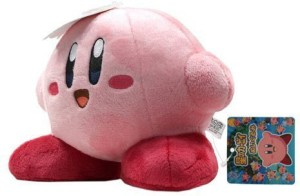 Little Buddy 1 X Kirby's Adventure Kirby Standing 6-Inch Plush  - 20 inch