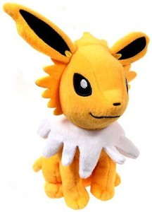 Pokemon Tomy 8 Inch Evolutions Plush Jolteon