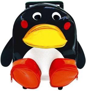 Sassafras Pull-Along Penguin Bag  - 20 inch