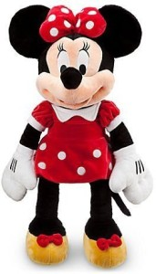 Disney Exclusive Large Red Minnie Mouse Plush 27'' H