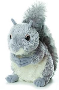 Aurora Plush Nutty Gray Squirrel 65