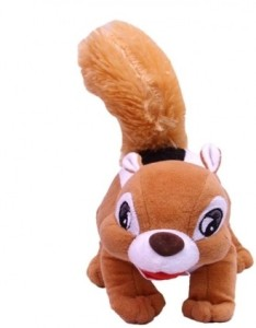 SCG Cute Squirrel,Crafted With Perfection Using The Finest Materials.(32cm)  - 14 cm