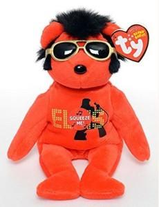 TY Beanie Babies 2010 Redyour Teddy Bear Elvis