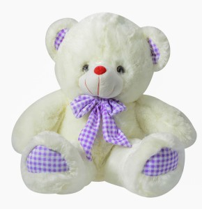 Dimpy Stuff Bear W/Bow  - 15.7 inch