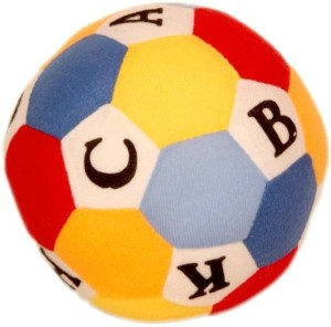 Homeshopeez Soft Toy ABC Ball  - 15 cm