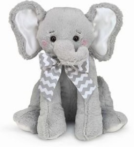 Bearington Baby Elephant Lil' Spout Lullaby Musical  - 20 inch