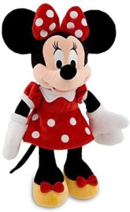 Disney S Minnie Mouse Plush Red Dress 19'' H
