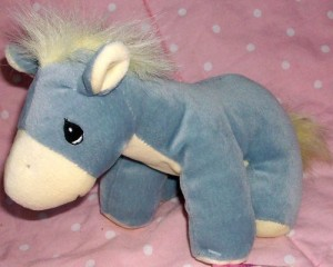 Tender Tails Precious Moments Donkey Plush Doll