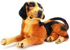 Tickles Sitting Dog  - 15 inch