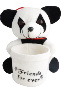 Aarushi Panda Stuffed Toy Pen Holder  - 16 cm