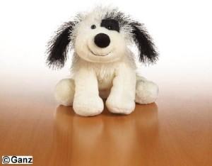 Webkinz Black And White Cheeky Dog