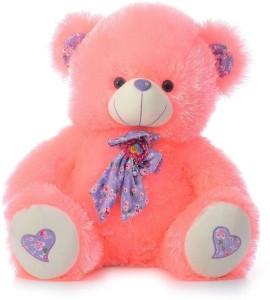 Cuddles Stuffed Bear With Bow  - 32 cm
