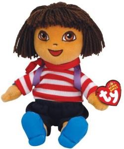 Ty Beanie Babies Dora Dora World Adventure France