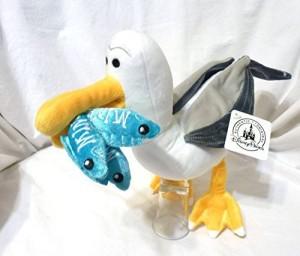 Disney Finding Nemo Mine Seagull Plush Doll NEW  - 20 inch