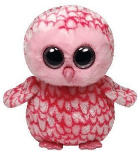Ty Beanie Boos Pinky Pink Barn Owl Plush  - 20 inch