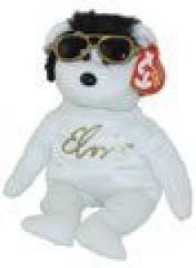 Ty Beanie Ba Viva Las Beanies The Elvis Bear