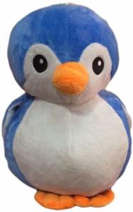 Cuddles Cute looking penguin blue  - 40 cm
