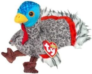 TY Beanie Babies Lurkey The Turkey