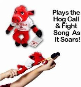 Serious Antics, Inc. Arkansas Razorback Mascot Slingy